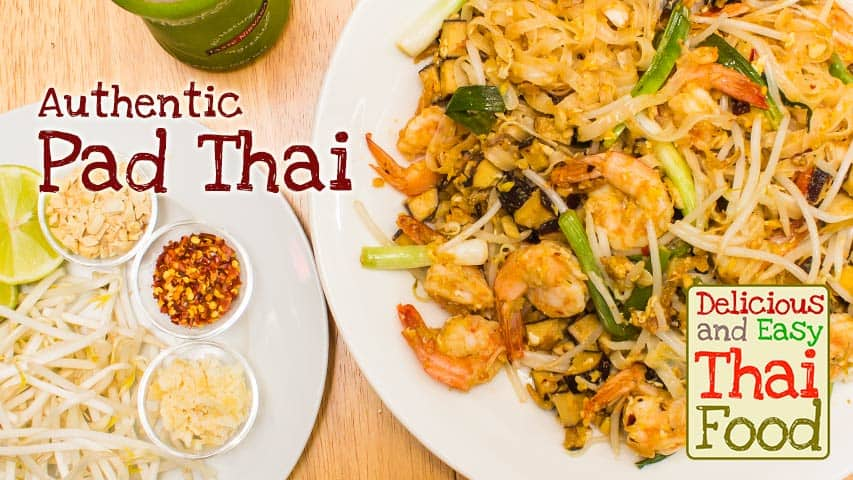Easy chicken pad thai noodles recipe the spruce
