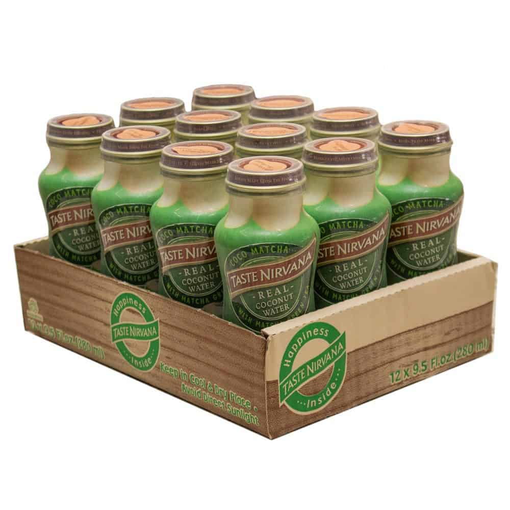 Coco Matcha [9.5 oz Glass Bottle] (Pack of 12)