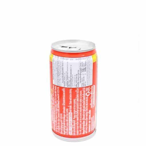 Taste Nirvana Thai Tea Ready to drink short can (Back)